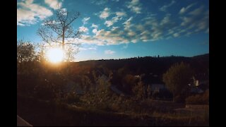 Sunset Timelapse in our backyard