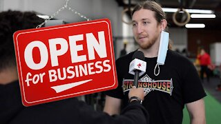 EXCLUSIVE: Melbourne gym LEGALLY NOW OPEN despite Covid restrictions
