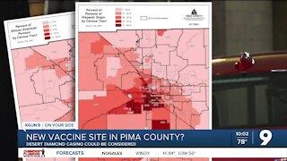 New vaccine site in Pima County?