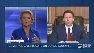 Gov. DeSantis gives update on building collapse in Miami-Dade County