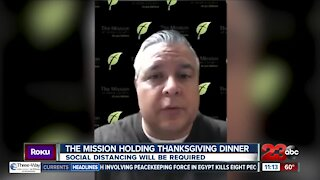 Mission at Kern County holding Thanksgiving dinner