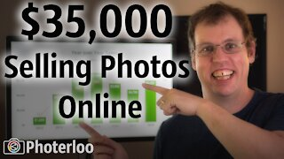 How to make 35K Selling Photos Online