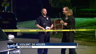 Four people were killed in Milwaukee in 24 hours