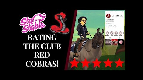 Rating The Club: RED COBRAS! 🐍 Star Stable Quinn Ponylord