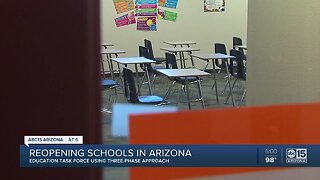 Arizona's three-phase approach to crafting school reopening plan