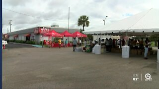 Urban League of Palm Beach County holds food distribution in West Palm Beach
