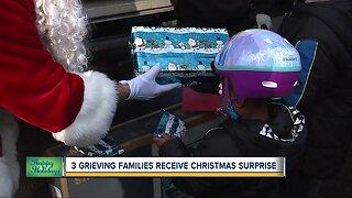 3 grieving families receive Christmas surprise