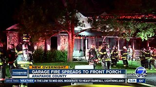 No injuries reported in Arapahoe County house fire early Monday
