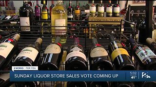 Sunday Liquor Store Sales Vote Coming Up