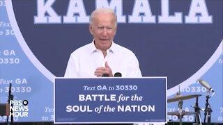 Joe Biden admits he's Kamala Harris running mate