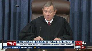 Supreme Court blocks President Trump's DACA decision