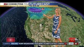Kern County will be near seasonal on Thursday