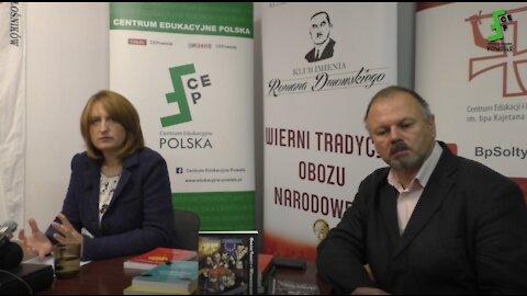 Magdalena Ziętek-Wielomska: Masoneria praktyka spisku, ideowe rozmywanie - wykład CE Polska 18.10.21