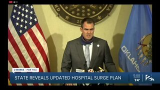 State reveals updated hospital surge plan