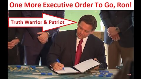 URGENT VIDEO For Governor Ron DeSantis - and 49 other Governors!