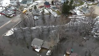 Flooding in Columbus, Dodge County