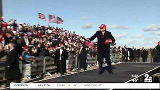 Biden and Trump campaign in Pennsylvania