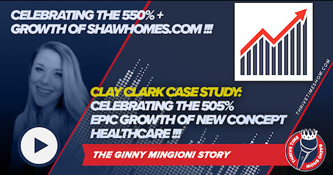 Celebrating the 505% Growth of New Concept Healthcare and the 550%+ Growth of ShawHomes.com