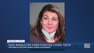 Kids assaulted over positive COVID tests