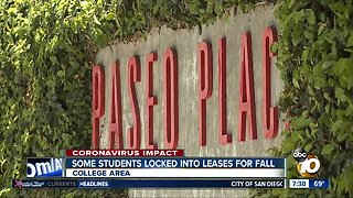 Some SDSU students locked into leases