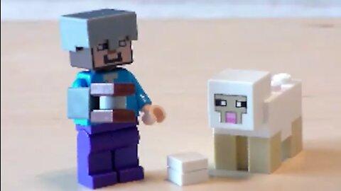 Lego Minecraft Shears Tutorial