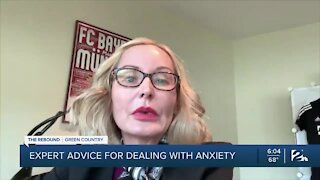Expert advise on dealing with anxiety