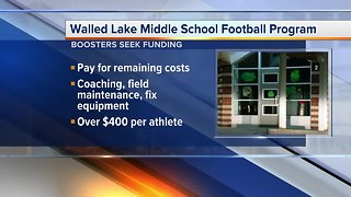 Walled Lake students, parents fight to keep middle school football alive