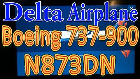 Delta Plane N873DN