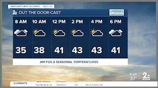 Monday morning , Dec. 21 Weather Forecast
