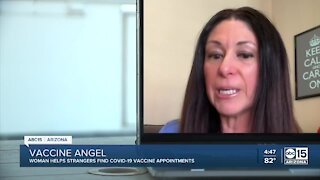 Texas woman helps people in 9 states get vaccine appointments