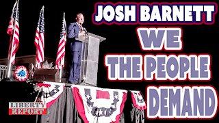 Congressional Candidate Josh Barnett is a True American Patriot