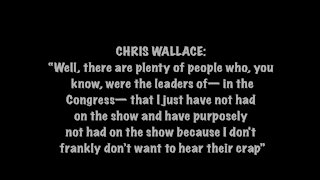 Chris Wallace on Colbert
