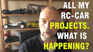 All My RC Car Projects! What is happening?