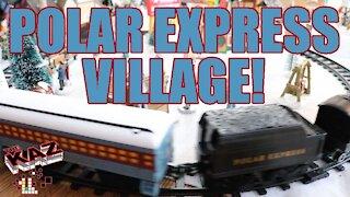 2019 Polar Express Train and Christmas Village
