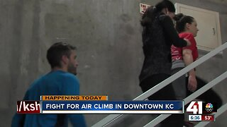Fight for Air Climb in downtown KC