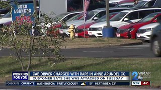 Woman sexually assaulted in taxi in Glen Burnie
