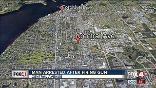 Fort Myers Police arrest man after firing a gun