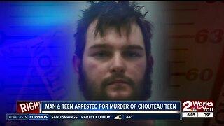 Man & Teen arrested for murder of Chouteau Teen