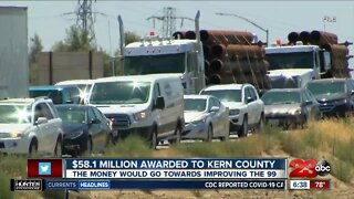 $58.1 million awarded to fix highways in Kern County