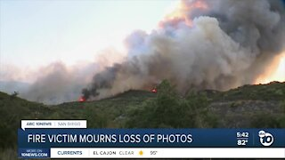 Valley Fire victim mourns loss of memories
