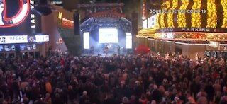 Live music returns to Fremont Street Experience after year long pandemic pause