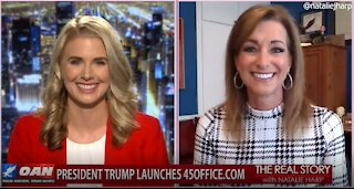 The Real Story - OANN President Legacies with Peggy Grande