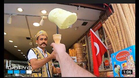 Go Pro Award goes to Turkish ice-cream man