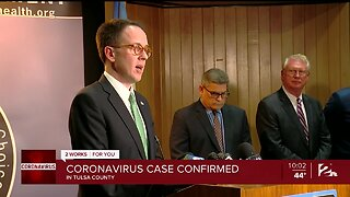 First Case of Coronavirus Confirmed in Tulsa County