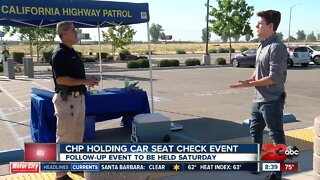CHP holding second car seat check event next weekend