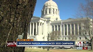 Gov. Parson announced 2020 campaign