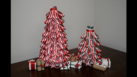 A Peppermint Christmas - Trees and Gifts