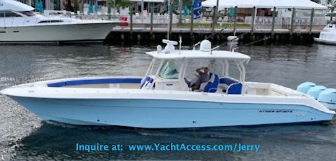 2011, 42' HYDRA-SPORTS 42 CENTER CONSOLE - Boats for Sale