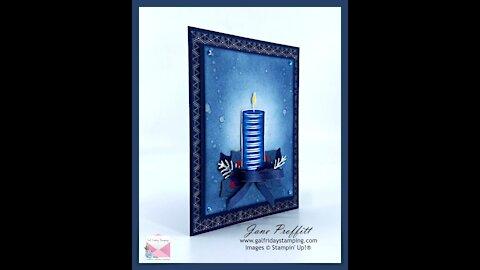 Monochromatic Christmas Card
