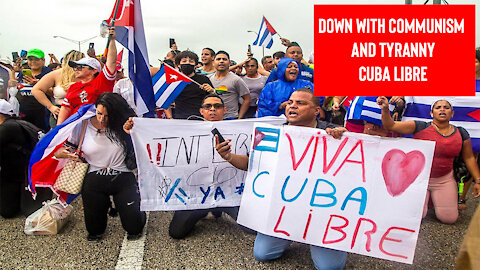 The Friday Vlog | Thousands of Cubans Protest Communism and Tyrannical Rule
